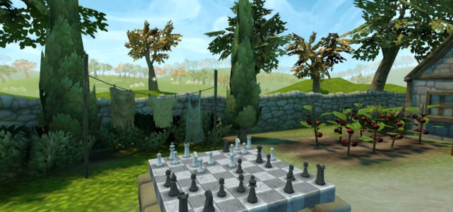 Chess Garden VR Released!