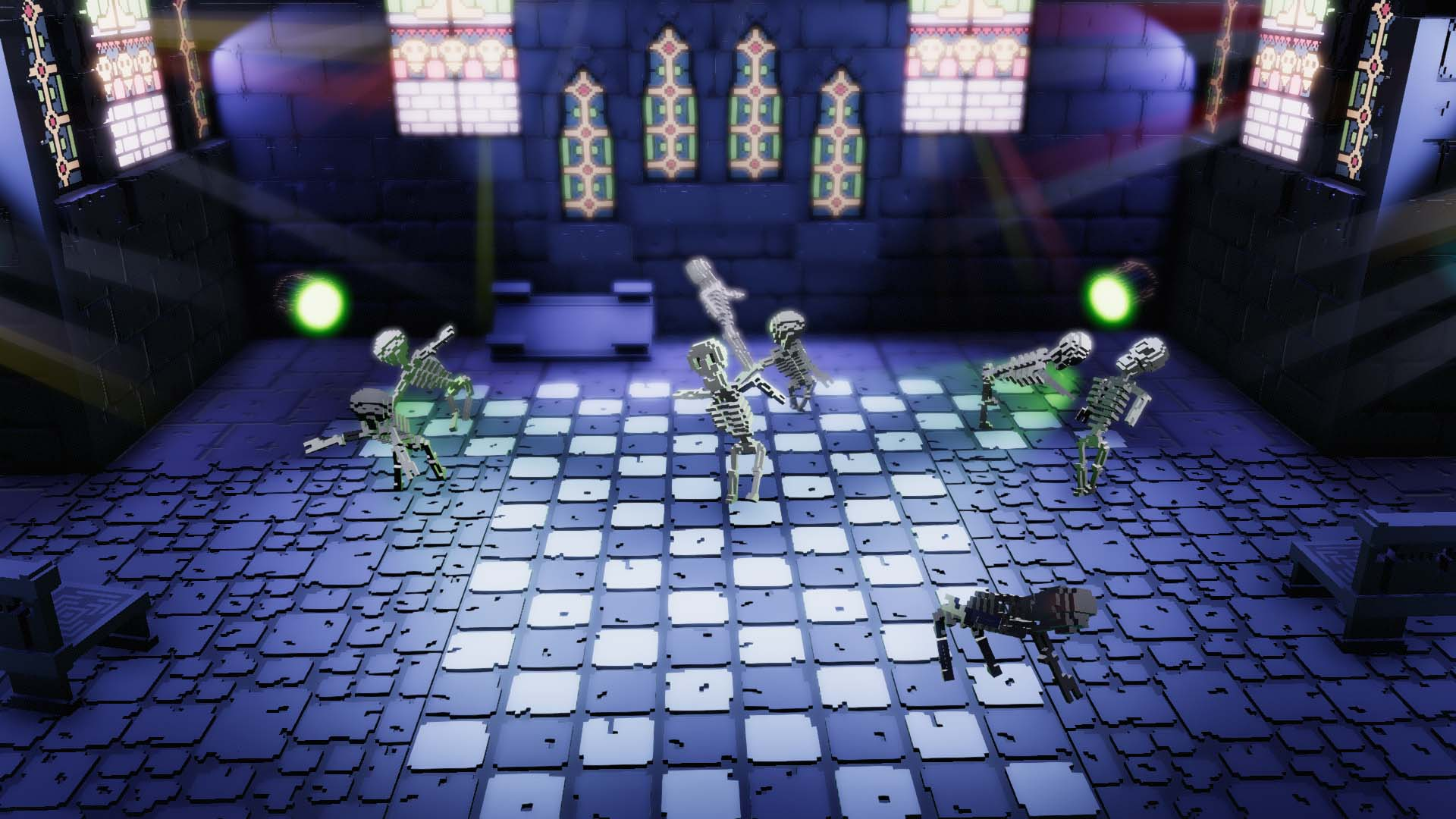 Skeletal Dance Party